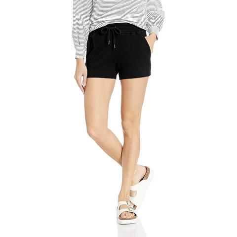 Splendid Women's Women's Relay Active Shorts Shorts, Black,, Black, Size X-Small