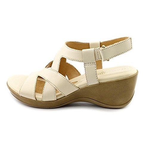 f68eb24ceec2 Shop Naturalizer Womens Tanner Leather Open Toe Casual Platform Sandals -  Free Shipping Today - Overstock - 14538201