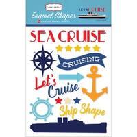 Let's Cruise Enamel Shapes-