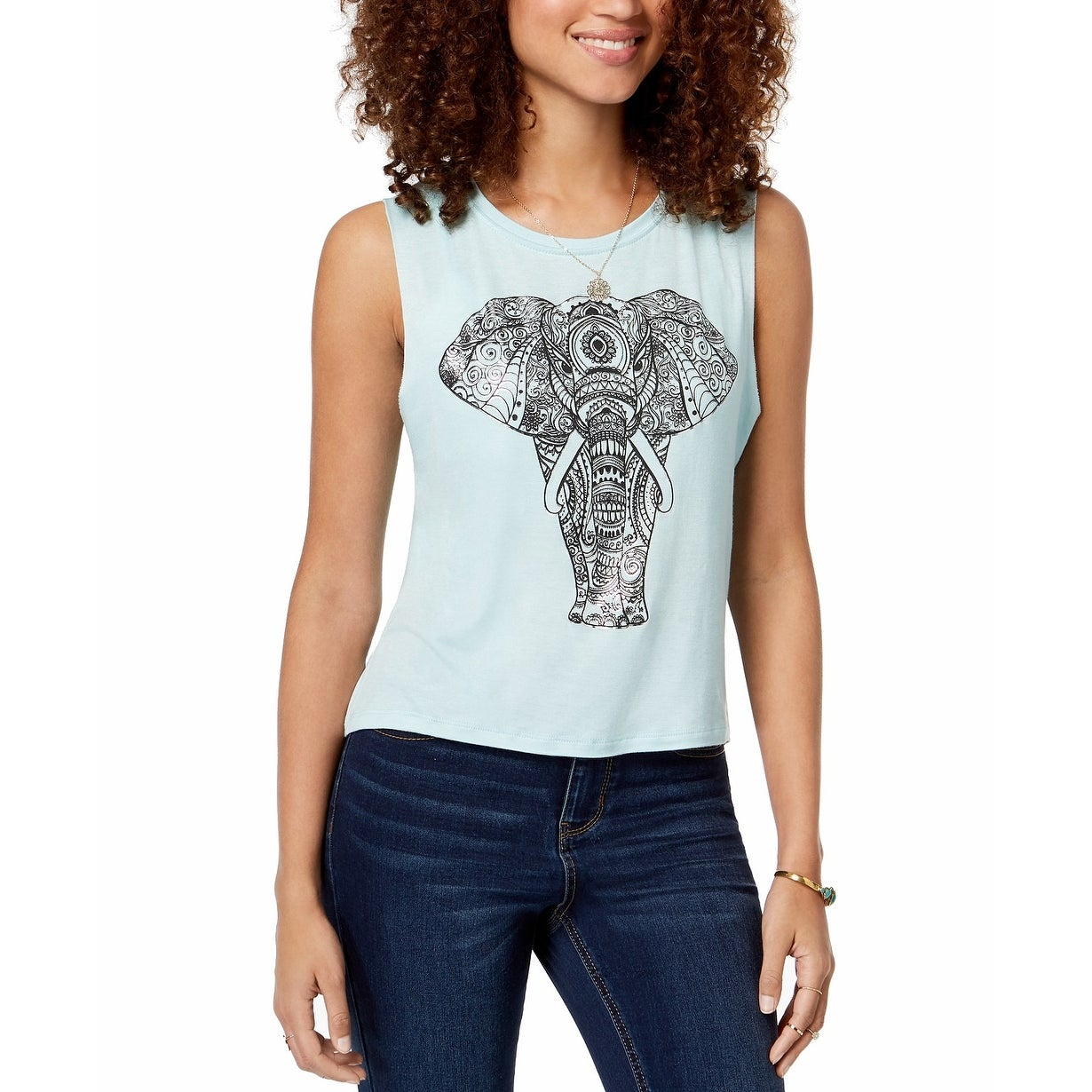 742ae1e0 Rebellious One Tops | Find Great Women's Clothing Deals Shopping at  Overstock