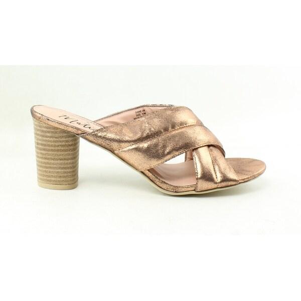 724dc5da180 Shop Matisse Womens Shine On Rose Gold Heels Size 10 - On Sale ...