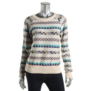 Dolce Vita Womens Modal Pattern Pullover Sweater - M