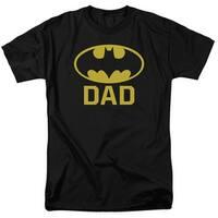 Batman/Bat Dad Mens Short Sleeve Shirt