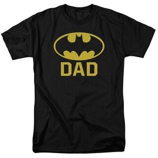 Batman Bat Dad Mens Short Sleeve Shirt