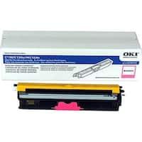 """""""OKI Toner Cartridge - Magenta 44250714 Oki Toner Cartridge - Magenta - LED - 2500 Page - 1 Each - OEM"""""""