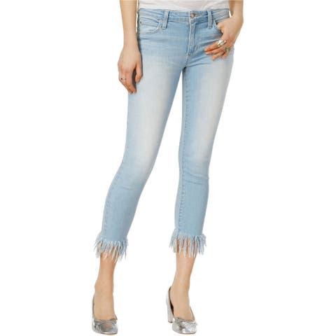 Joe's Womens The Icon Cropped Skinny Fit Dress, Blue, 29