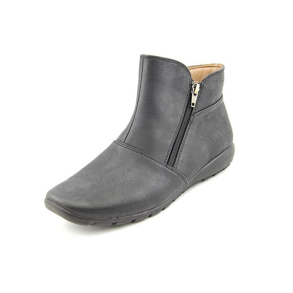 Easy Spirit Antaria Women Round Toe Synthetic Black Ankle Boot