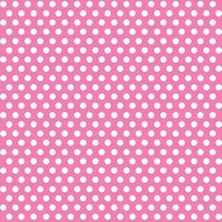 """Hot Pink - Decorative Dots Gift Wrap 30""""X5'"""
