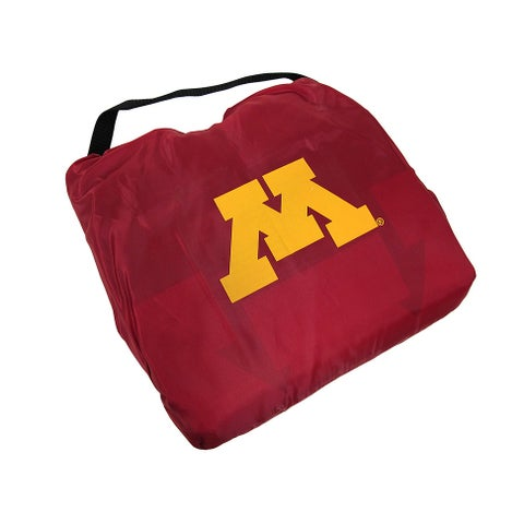 Minnesota Gophers 3 in 1 Poncho/Blanket/Stadium Seat - Red