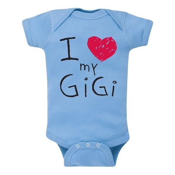 I (Heart) Gigi, Scribbled - Infant One Piece