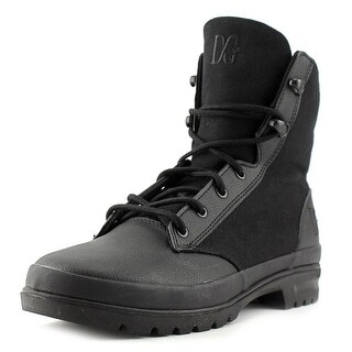 DC Shoes Truce Women Round Toe Synthetic Black Combat Boot
