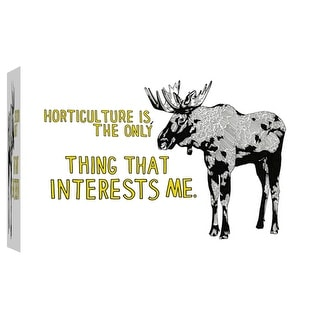 """PTM Images 9-102104  PTM Canvas Collection 8"""" x 10"""" - """"Moose"""" Giclee Moose Art Print on Canvas"""