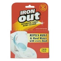 Iron Out AT12T Automatic Toilet Bowl Cleaner, 2.1 Oz