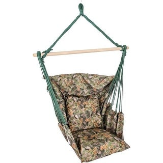Club Fun Camouflage Hanging Rope Chair