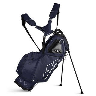 New 2019 Sun Mountain 4.5 LS Golf Stand Bag (Navy) - Navy
