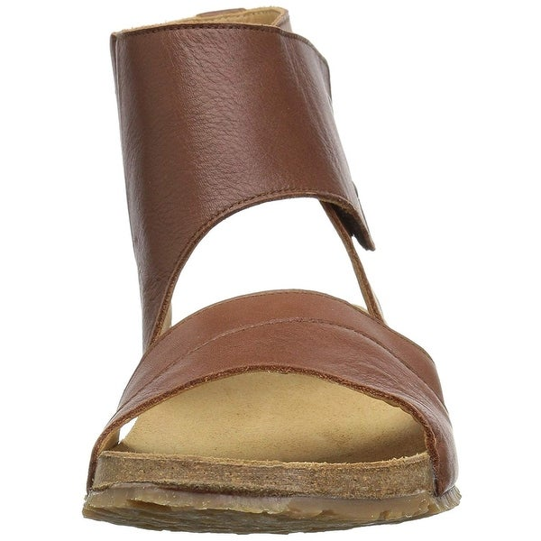 Haflinger Womens Maxine Open Toe Casual Ankle Strap Sandals