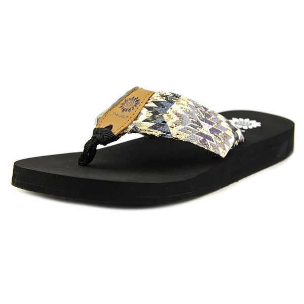 Yellow Box BritemacIIKan Women Open Toe Synthetic Multi Color Flip Flop Sandal