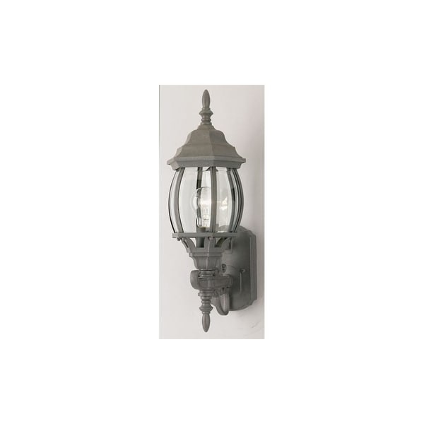 Westinghouse 64683 1-Light Outdoor Wall Sconce - textured rust patina - n/a