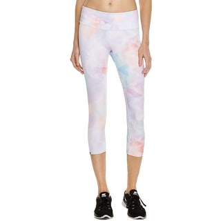 Onzie Womens Sophy Athletic Leggings Printed Capri