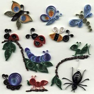My Bug Collection - Quilling Kit