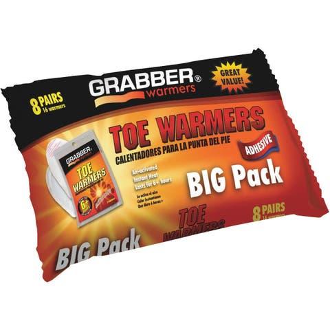GRABBER 8Pk Toe Warmer