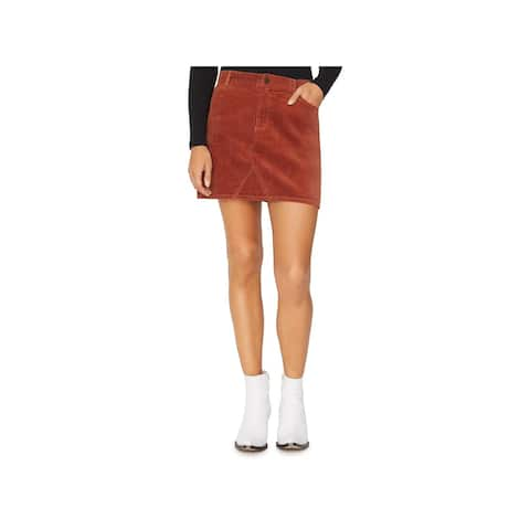 Sanctuary Womens Mini Skirt Corduroy Mini