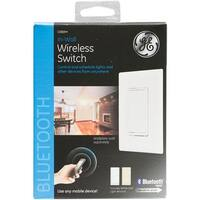 GE 13869 Bluetooth In-Wall Wireless Smart Switch, 120 Volt