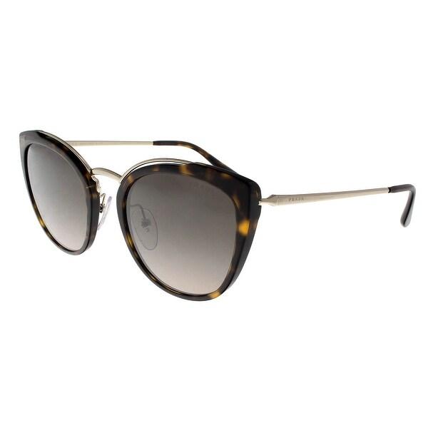 12864f0756 Prada PR20US 2AU4P0 CONCEPTUAL Pale Gold Havana Square Sunglasses - 54 -22-140