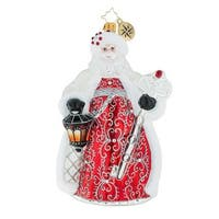 Christopher Radko Simply Spectacular Christmas Ornament #1019219 - RED