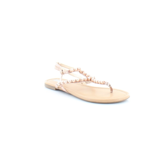 INC International Concepts Madigane Women's Sandals & Flip Flops Rose Pearl - 10
