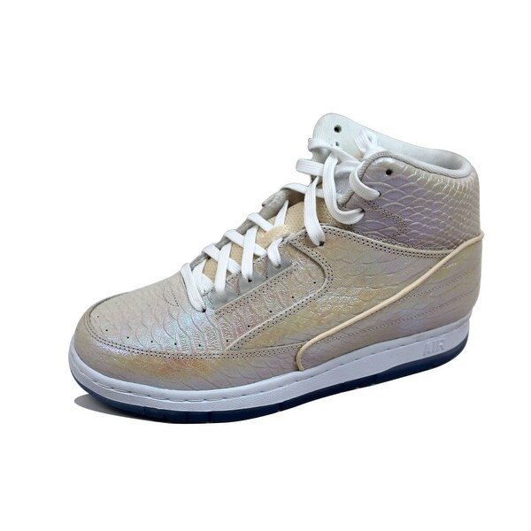 Nike Men's Air Python Premium Sail/Metallic Gold 705066-102 Size 7.5
