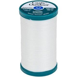 Outdoor Living Thread 200yd-White - White