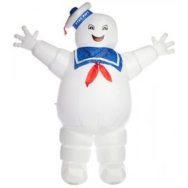 Stay Puft Marshmallow Man Inflatable Halloween Yard Decoration