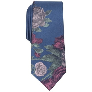 Link to bar III Mens Seychelle Self-tied Necktie, blue, One Size - One Size Similar Items in Ties