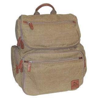 Buxton Men's Huntington Gear Backpack (Option: TAN)