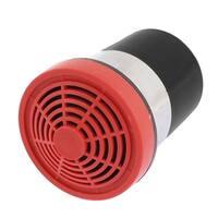 Unique Bargains Car Truck Plastic Electric Trumpet Horn Audio Speaker Louder 12V Black Red