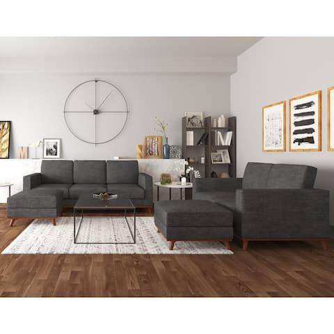 Archer Sofa, Loveseat and 2 Ottoman living room set