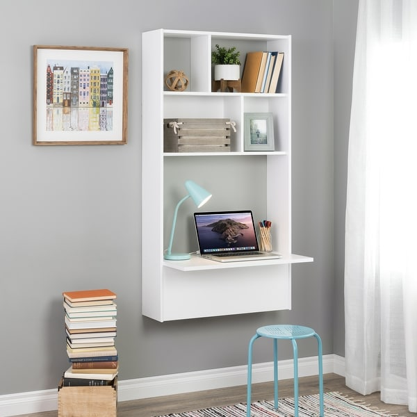 Prepac Tall Floating Desk. Opens flyout.