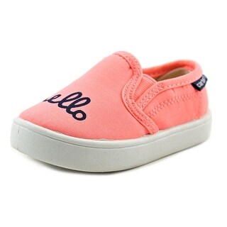 Carter's Tweens5 Youth Round Toe Canvas Pink Loafer (Option: 12)