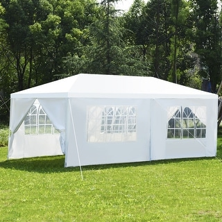 Costway Wedding Tent Canopy Party 10x20 Heavy Duty Gazebo Cater Event W