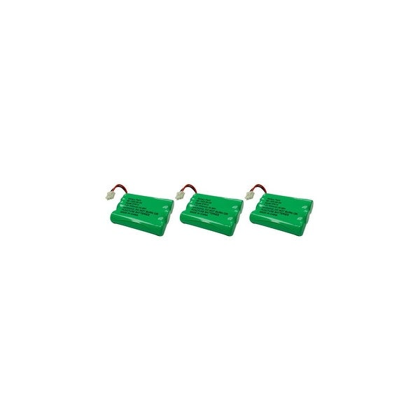 Replacement VTech DS4122-3 / i6768 NiMH Cordless Phone Battery - 600mAh / 3.6V (3 Pack)