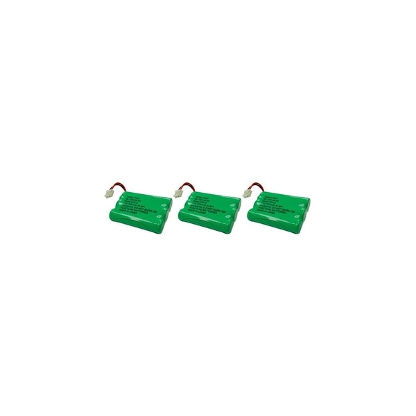 Replacement Battery For VTech DS4121-2 Cordless Phones - 27910 (600mAh, 3.6V, NiMH) - 3 Pack