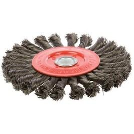 "Forney 72749 Coarse Wire Wheel Brush, 6"" x 1/2"""