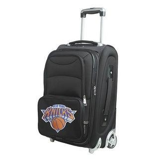 21 in. New York Knicks 2 Wheel Carry-On, Black