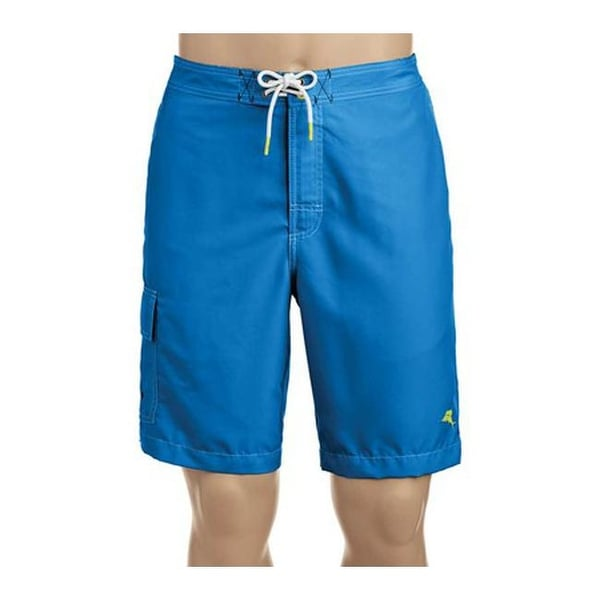 f1fbf4cd33 Shop Tommy Bahama Men's Baja Beach Board Short Santorini Blue - Free  Shipping Today - Overstock - 20268963