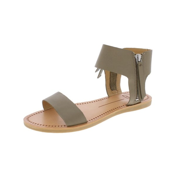 Dolce Vita Womens Jessa Flat Sandals Open Toe Casual