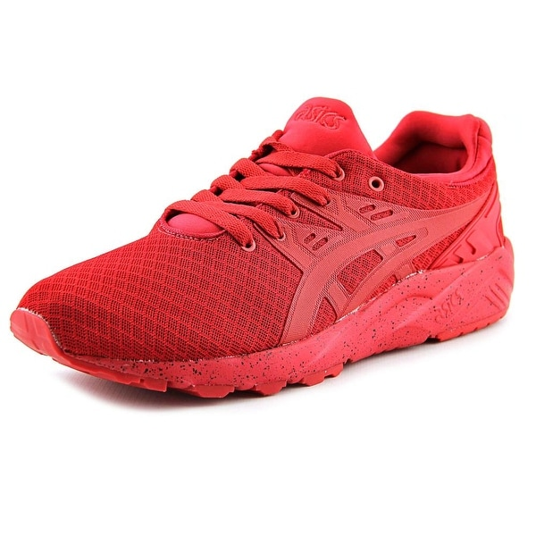 Asics Gel-Kayano Trainer EVO Men Round Toe Synthetic Red Sneakers