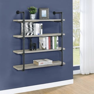 Link to Carbon Loft Maltese 40-inch 4-shelf Wall Shelf Similar Items in Accent Pieces