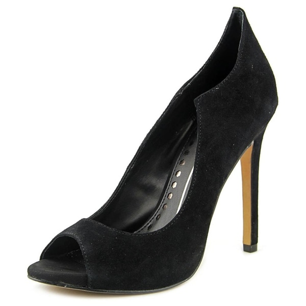 Dolce Vita Isabel Women Peep-Toe Suede Heels