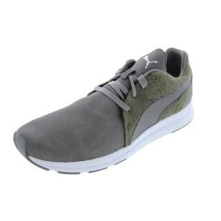 Puma Mens Haast Lace Leather Signature Casual Shoes - 14